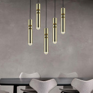 LED Pendant lights Aluminum Pipe G9 Industrial Droplight Modern Style from Singapore best online lighting shop horizon lights
