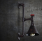 Industrial Style LED Wall Light Iron Water Pipe Vintage Lighting from Singapore best online lighting shop horizon lights