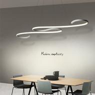 LED Pendant Lights Aluminium Fish Line Shape Modern Style from Singapore best online lighting shop horizon lights