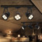 2PCS LED Track Light 35W/40W/45W Spotlamp for Cloth Shops High Brightness from Singapore best online lighting shop horizon lights