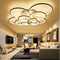 LED Ceiling Light Acrylic Round Flower Shape Remote Control Dimming  Modern Style from Singapore best online lighting shop horizon lights