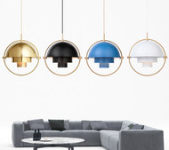 LED Pendant Light Rotatable Colorful Shades Modern Style from Singapore best online lighting shop horizon lights Living Room