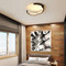 Modern Style LED Ceiling Light Unique Metal Acrylic Shade Bedroom Living Room from Singapore best online lighting shop horizon lights