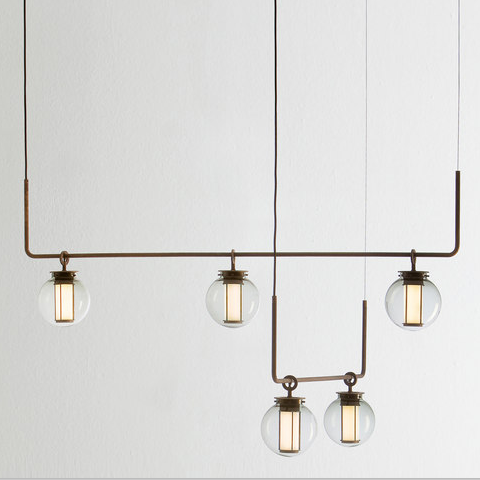 LED Glass Creative Pendant Light 3 Versions Metal Lamp Body Modern Style from Singapore best online lighting shop horizon lights