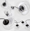 LED Glass Pendant Light Glass Lampshade 3 Versions Modern Style from Singapore best online lighting shop horizon lights