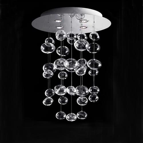 LED  Glass Bubble Chandelier Light Glass Lampshade Modern Style from Singapore best online lighting shop horizon lights