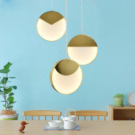 Modern Pendant Lights LED lighting Metal Lampshade from Singapore  horizon lights