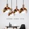 Modern Creative Design LED Pendant Light Metal Lampshade