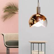 Modern Creative Design LED Pendant Light Metal Lampshade Dining Decor from Singapore best online lighting shop horizon lights