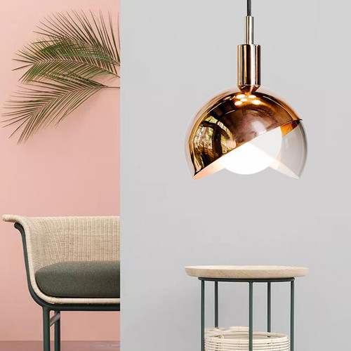 Modern Creative Design LED Pendant Light Metal Lampshade Dining Decor from Singapore best online lighting shop horizon lights