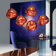 Lava Lamp, Electroplate E27 LED Pendant Light for Eclectic and Art Deco (main)