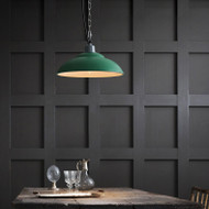 LED Green Loft Pendant Light Industrial Style from Singapore best online lighting shop horizon lights
