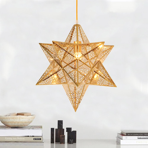 LED Beautiful Star Pendant Light Modern Style from Singapore best online lighting shop horizon lights