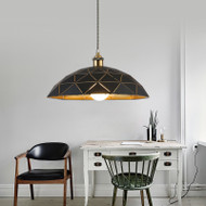 LED Geometric Patterns Pendant Light Modern 【SKU42218】from Singapore best online lighting shop horizon lights living room
