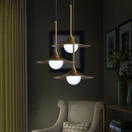 LED Pendant Light Metal Lampshade Modern Style【SKU42219】