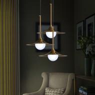 LED Pendant Light Metal Lampshade Modern Style【SKU42219】
