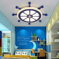 This is the front drawing. Modern Style LED Ceiling Light Sailing Metal Acrylic Shade Kids Room Decor from Singapore best online lighting shop for floor lamp, horizon lights