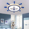 Ceiling Light Sailing Metal Acrylic Shade Modern Style For Kids Room from Singapore best online lighting shop horizon lights