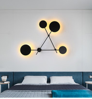 LED Wall Lamps Modern Simple Bedroom Bedside Wall lights Indoor Wall Lighting Bar cafe fixtures