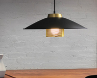 LED Pendant Light Metal Industrial Modern Style Living Room from Singapore best online lighting shop horizon lights
