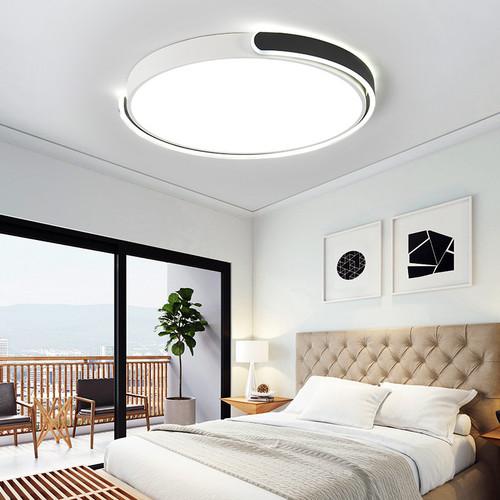 Round LED Ceiling Light Metal Circular Arc Metal Frame for Bedroom from Singapore best online lighting shop horizon lights