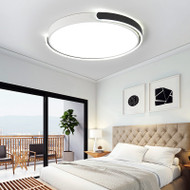 Round LED Ceiling Light Metal Circular Arc Metal Frame for Bedroom from Singapore best online lighting shop horizon lights