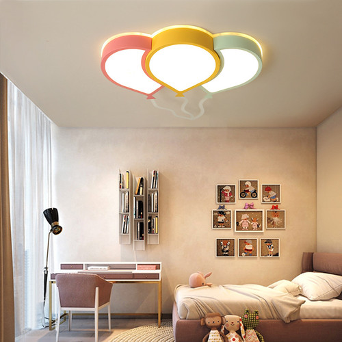 LED Ceiling Light Colorful Balloon Cute Simple Kids room Home Decor from Singapore best online lighting shop horizon lights