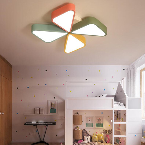 LED Pinwheel Shaped Ceiling Light for Children Bedroom Decor  from Singapore best online lighting shop horizon lights