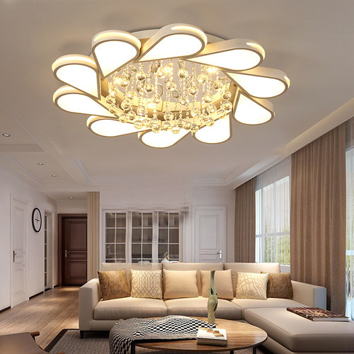 LED Ceiling Light Luxurious Crystal Lamp Dining Room Creative Modern Decor from Singapore best online lighting shop horizon lights