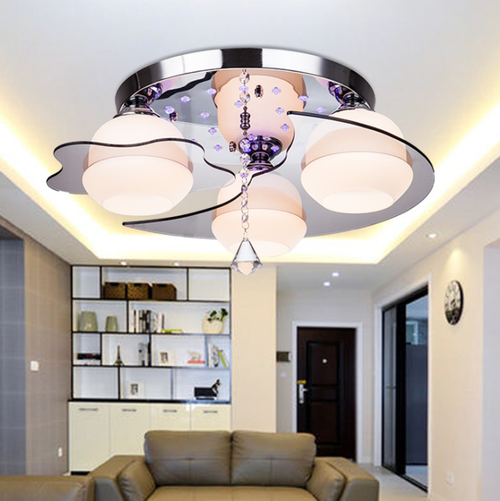 LED Ceiling Light Crystal Lamps Star Moon Creative Bedroom living Room from Singapore best online lighting shop horizon lights