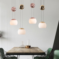 LED Pendant Light Adjustable Yo-yo Similar Creative Home Decor from Singapore best online lighting shop horizon lights