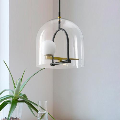 LED Pendant Light Bird Glass Metal Frame Nordic Simple for Living Room from Singapore best online lighting shop horizon lights