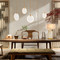 LED Pendant Light Resin Disc Shaped Simple Light from Singapore best online lighting shop horizon lights