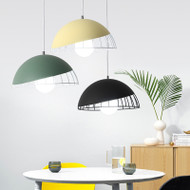 LED Pendant Light Pot Cover Colorful Metal Shade Modern Style Home Decor from Singapore best online lighting shop horizon lights
