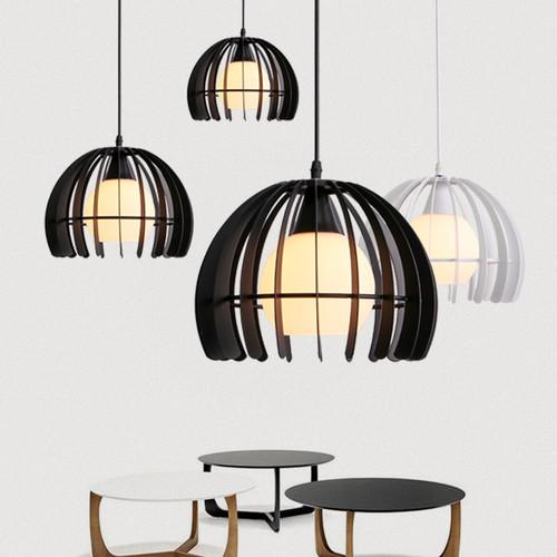 LED Pendant Light Metal Fence Shade Restaurants Dining room Decor from Singapore best online lighting shop horizon lights