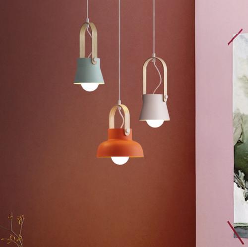 LED Pendant Light Metal Shade Restaurants Dining room Decor Modern Style from Singapore best online lighting shop horizon lights