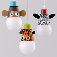 LED Pendant Light Animal Shaped Metal Shade Children Bedroom  Decor from Singapore best online lighting shop horizon lights