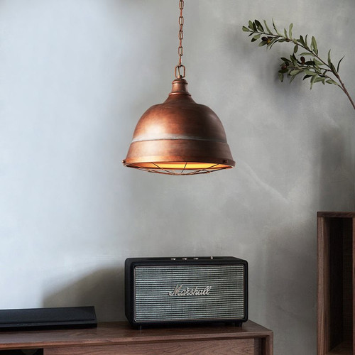 LED Pendant Light Copper Light Restaurant Light Retro Industrial Style from Singapore best online lighting shop horizon lights