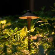 LED Mushroom Garden Lawn Lamp Aluminum Courtyard villa landscape from Singapore best online lighting shop horizon lights
