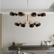 LED Chandelier Light Black Metal Shade Modern Style Creative Design Home Decor from Singapore best online lighting shop horizon lights