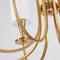 Modern LED Chandelier Light Copper Classic Fabric Lampshade Light from Singapore best online lighting shop horizon lights