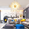 Starburst Light, Astronomy Modern Chandelier light for Post Modern and Eclectic (bright up)