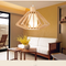 LED Pendant Light Traditional Casual Wood Shade Restaurants Dining room from Singapore best online lighting shop horizon lights