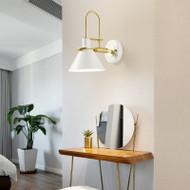 Simple Modern Style LED Wall Lamp Metal E27 Corridor Bedroom Hotel Decor from Singapore best online lighting shop horizon lights