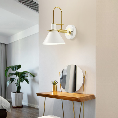 Simple Modern Style LED Wall Lamp Metal E27 Corridor Bedroom Hotel Decor from Singapore best online lighting shop horizon lights