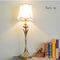 American Country LED Table Lamp Fabric Shade Copper Bedroom Study room Living Room Decor from Singapore best online lighting shop horizon lights