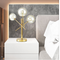 Modern LED Table Lamp Desk Lamp Light Shade Three Glass Ball for Bedroom Living Room Floor Bedside Gold Designs from Singapore best online lighting shop horizon lights