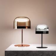 Modern LED Table Lamp Glass Shade Mushroom Shaped Light Bedroom Study Room Decor from Singapore best online lighting shop horizon lights