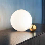 Modern Simple LED Table Lamp Double Ball Light Bedroom Study Room Decor from Singapore best online lighting shop horizon lights