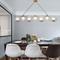 Modern LED Pendant Copper Strip Glass Light for Restaurants Workshop Decor from Singapore best online lighting shop horizon lights